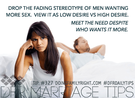 Why wife has low sex drive